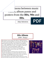 Comparing the 80s90s00s in music