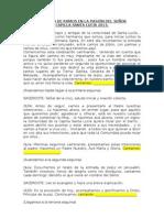 DOMINGO DE RAMOS EN LA PASIÒN DEL SEÑOR