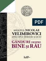 134741288 Sf Nicolae Velimirovici Ganduri Despre Bine Si Rau