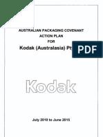 APC ActionPlan for Kodak Australia