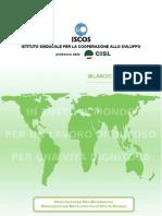 Bilancio Sociale ISCOS 2012