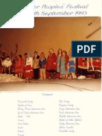 Reindeer Peoples Festival 1993