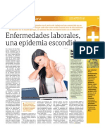 Enfermedades Laborales Una Epidemia Escondida