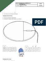 Prejardín segundo período 1 - Colorea y punza mouse