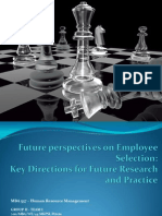 2012.09.22_MBA 537_Paper discussion_Future perspectives on Employee Selection.ppt