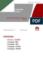 WCDMA DBS3800 Introdução V1.0 (sem APM30)