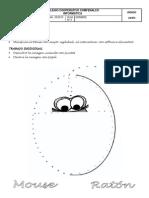 Jardín segundo período 1 - unir puntos mouse decorar con papel