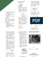 Leaflet Senam Kaki Diabetik