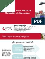 matriz seleccion de mdos prom Perú