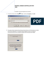 SETTING UP AN ADDITIONAL DOMAIN CONTROLLER WITH WINDOWS SERVER 2008.docx