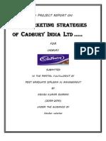 CADBURY Marketing