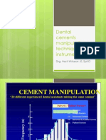 Drg. Hesti (Dental Cements Manipulation Technique & Instruments)-2003