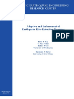 Adoption and Enforcement of Earthquake Risk-Reduction Measures