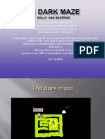 the dark maze