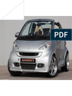 Body Kit for Smart Fortwo W451 by Smart Power Design