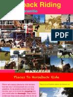 Sofia- Horseback Riding