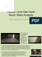 Textual Analysis Netkey Music Video