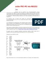 Comunicación PIC-PC vía RS232
