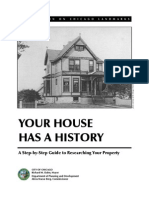 Your House Has a History