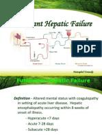 58738096 Fulminant Hepatic Failure