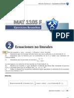 2 Ecuaciones No Lineales1