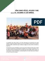 29-04-30 LA FUNDACION CANO VELEZ AYUDO Y ME GUSTA CELEBRA A LOS NIÑOS