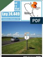Ley de TTO 24449 a Dic - 2012