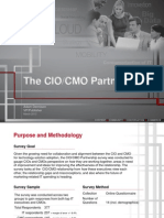 CIO/CMO Partnership Survey 2013 Excerpt