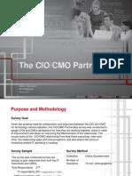 CIO/CMO Partnership Survey 2013 Excerpt