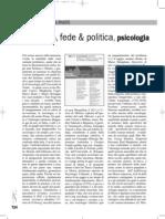 Sociologia, Fede & Politica, Psicologia (Carlo Alessandro Landini, 2012)