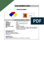 Oxido de Cobre