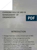 Changing Role of HRD(2)