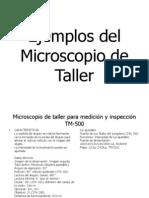 Tipos de Microscopio de Taller