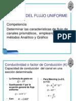 2. cálculo del flujo uniforme