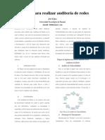 Articulo Auditoria de Redes