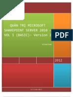 SharePoint 2010 for Admin Basic v2