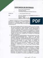 Respuesta de la PNP a la CNDDHH, Respecto al Caso Chaupe - Proyecto Conga