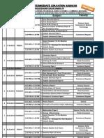 BIEK Karachi Board Inter part 1, 2 Date Sheet 2013
