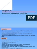 - Promotion and Audience Feedback