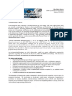 internship proposal letter