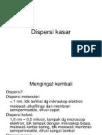 Dispersi Kasar