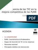 Importancia de Las TIC en La Mejora Competitiva de Las Pymes