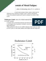 Fundamentals of Metal Fatigue