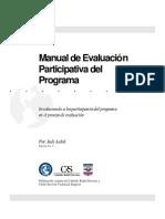 Manual de Evaluacion Participativa Del PRograma[1]