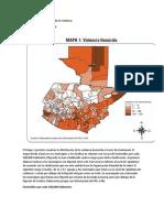 Municipios Con Mayor Violencia
