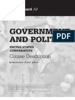 AP Comparative Govt Us Govt Politics 2010 Course Exam Description