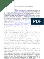 Curriculums Comite Editorial