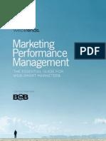 Web Trends - Marketing Performance Management