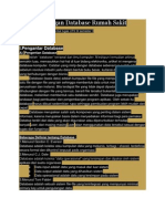 Rancangan Database Rumah Sakit