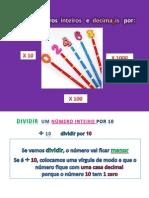 Dividir Numeros Inteiros e Nmeros Decimais Por 10 - 100 - 1000